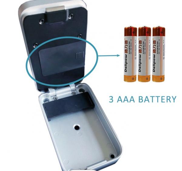 Batteri till nøgleboks